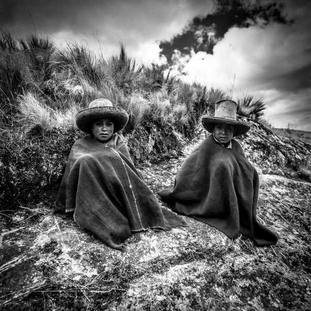 Kinder aus Cajamarca