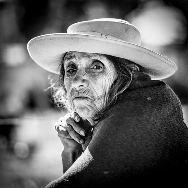 Marktfrau Portrait