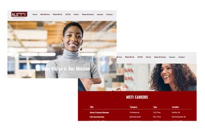 MSTI Website Development