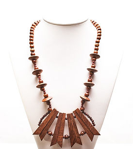 Speartier Teak Necklace AFWNSH-008.jpg