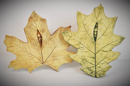 Leaf Peeper wall hanging (one)