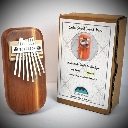 Cedar Thumb Piano