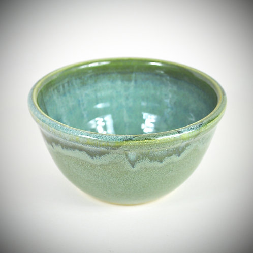 Cereal bowl in glossy blue-green