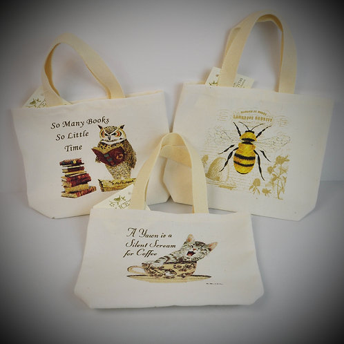 Small Canvas gift caddy