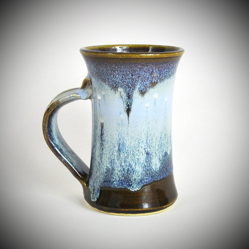 Tall Blue Wave Mug
