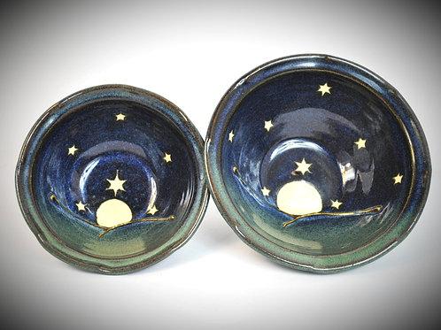 Moon and Stars soup or salad bowl