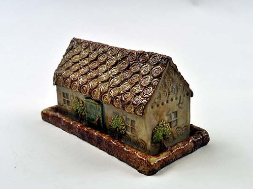 Covered Butter Server House