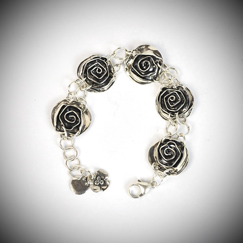 sterling Rose bracelet