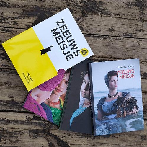 Fotoboek drieluik Zeeuws Meisje