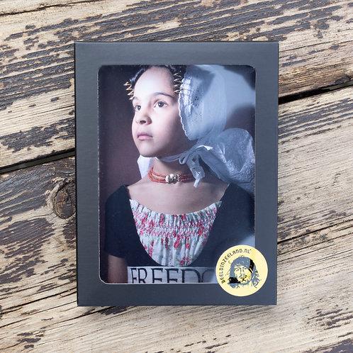 Ansichtkaarten Zeeuws Meisje (2)  #vrijheid