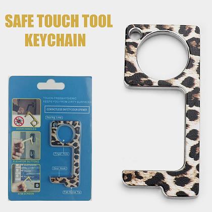 Hygienic Germ-Free Key Chain (LEOPARD)