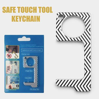 Hygienic Germ-Free Key Chain (BLACK/WHITE)
