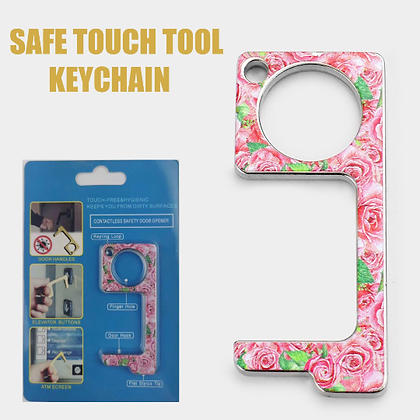 Hygienic Germ-Free Key Chain (FLOWER)