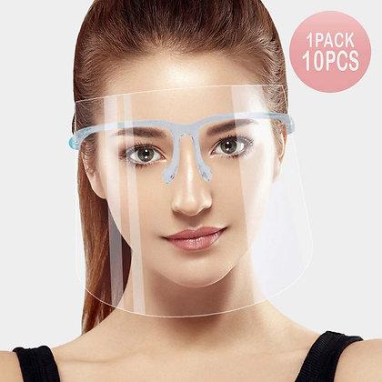 10PCS - Eye Glasses Face Shield
