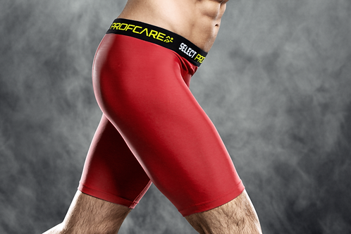 SELECT PROFCARE COMPRESSION SHORTS - RED