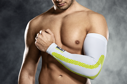SELECT PROFCARE COMPRESSION ARM SLEEVE -WHITE