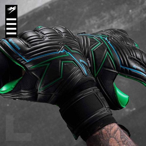 KA Goalkeeping Breakout Hybrid Cut (emerald coloured palm)