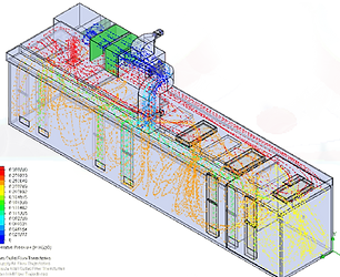 Computational Fluid Dynamics - CAD drawing