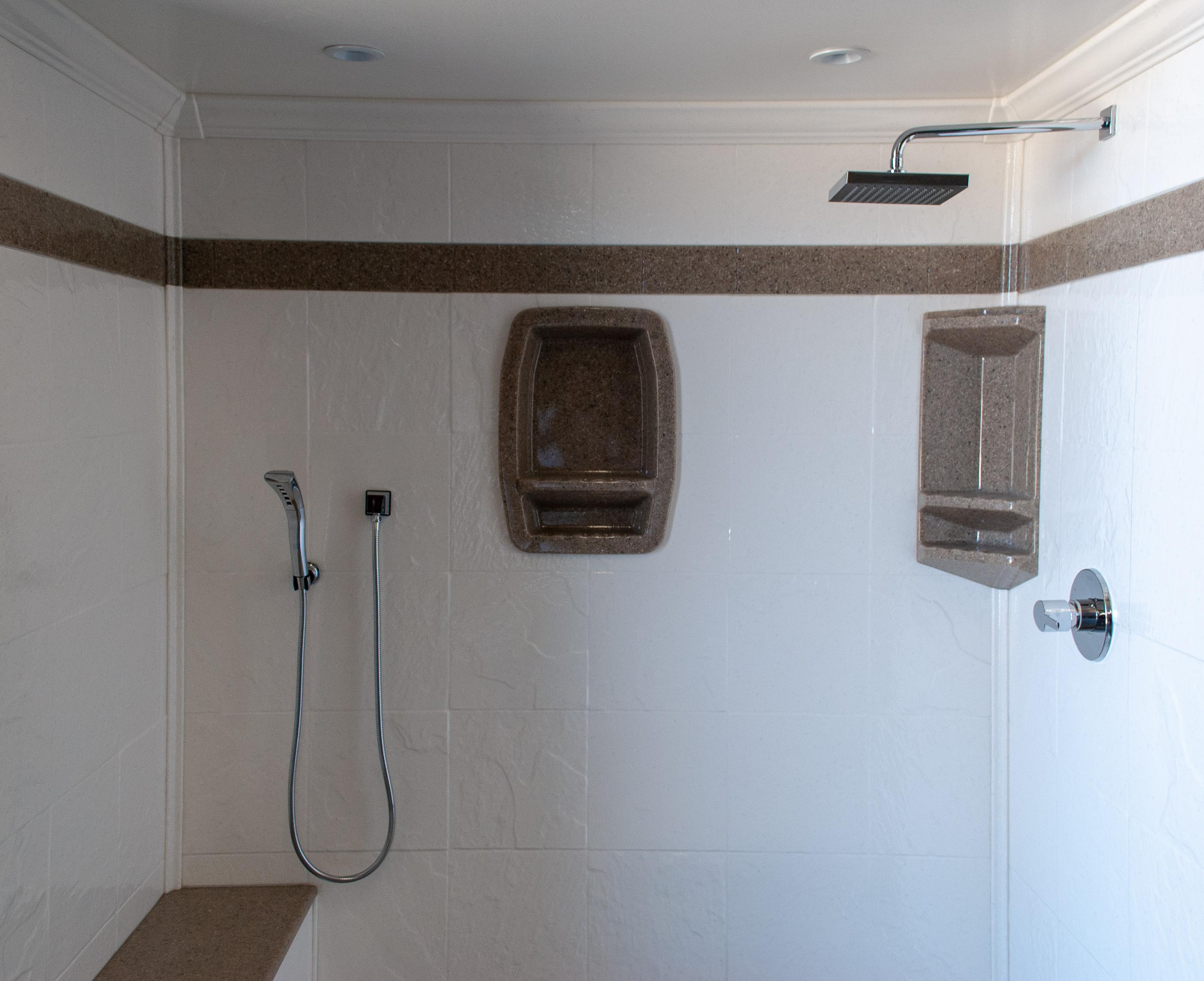 Chapman Custom Baths In-lay Shower