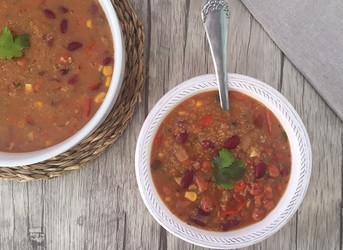 Sopa de Quinoa