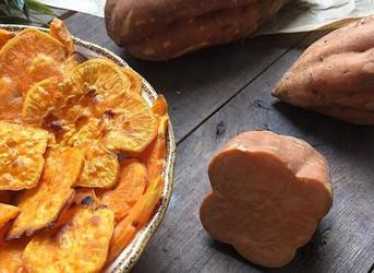 Chips de boniatos