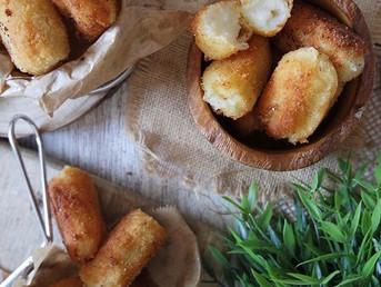 Croquetas de patata y mozzarella