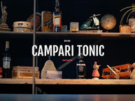 Campari - Drinks do Gaspare - Campari Tonic