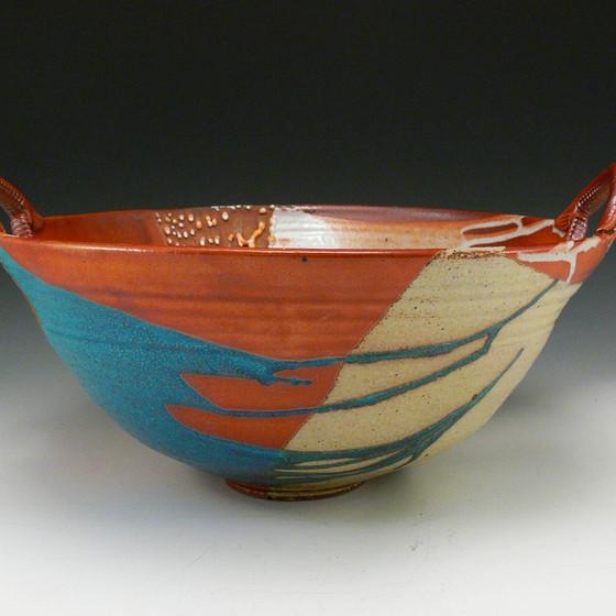 Large Handled Bowl
