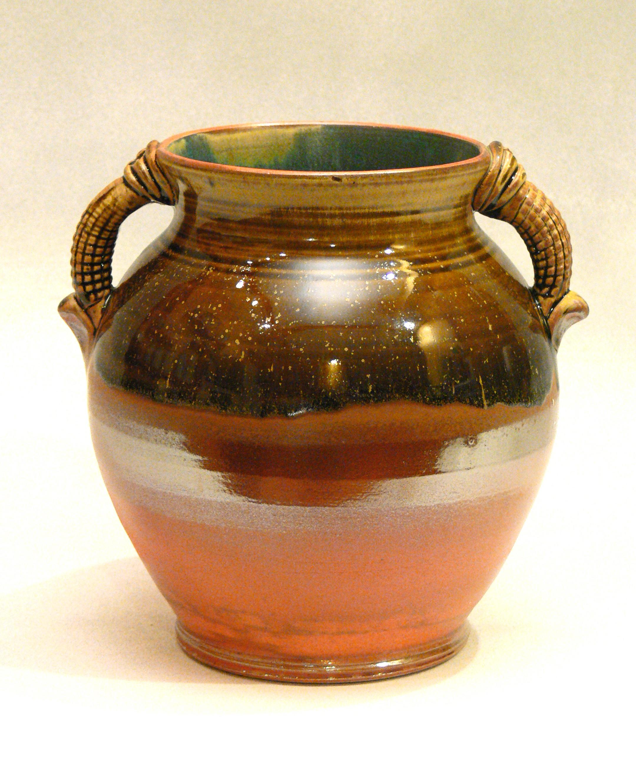 Ash and Shino Vase
