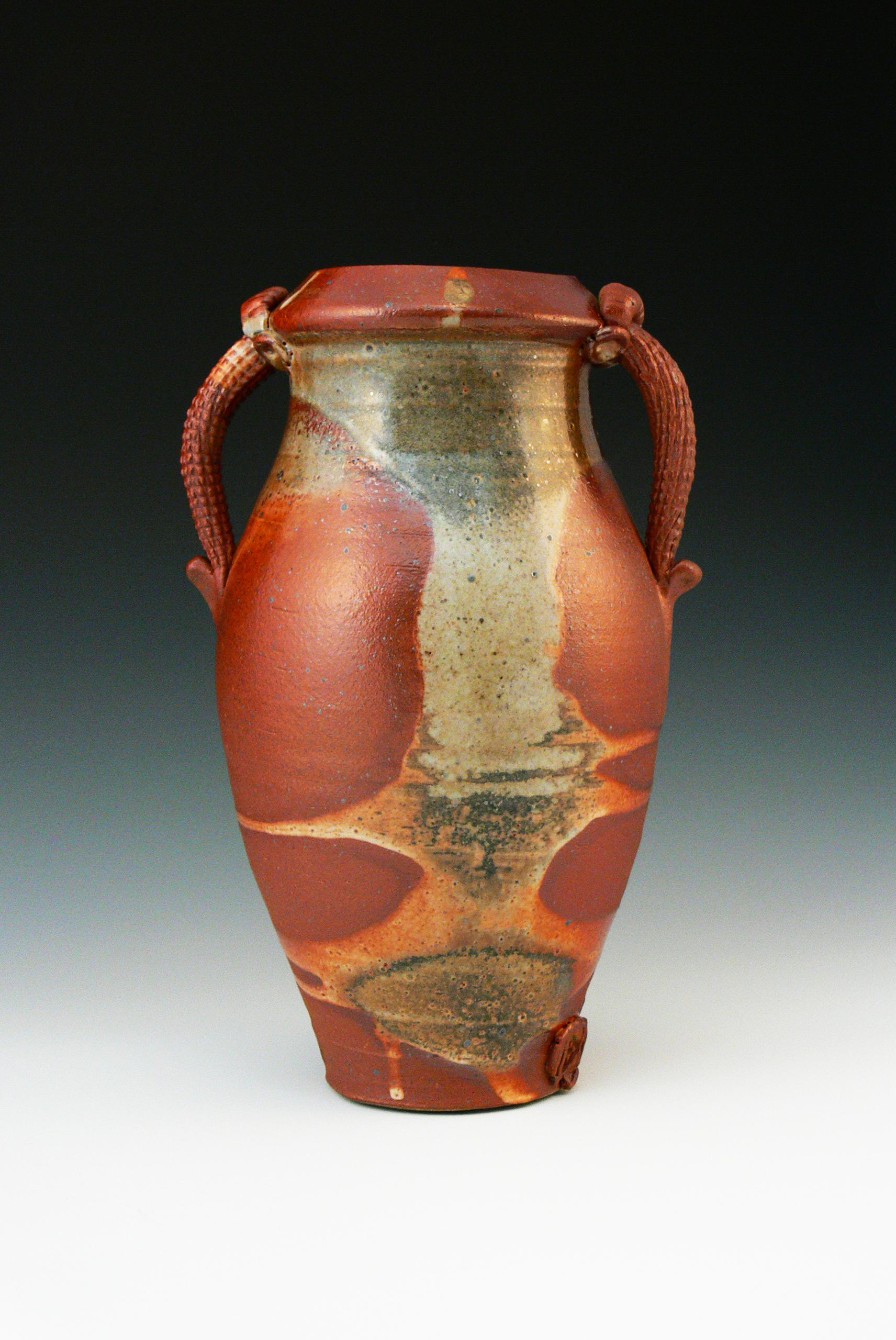 Shino Carbon Trap Vase