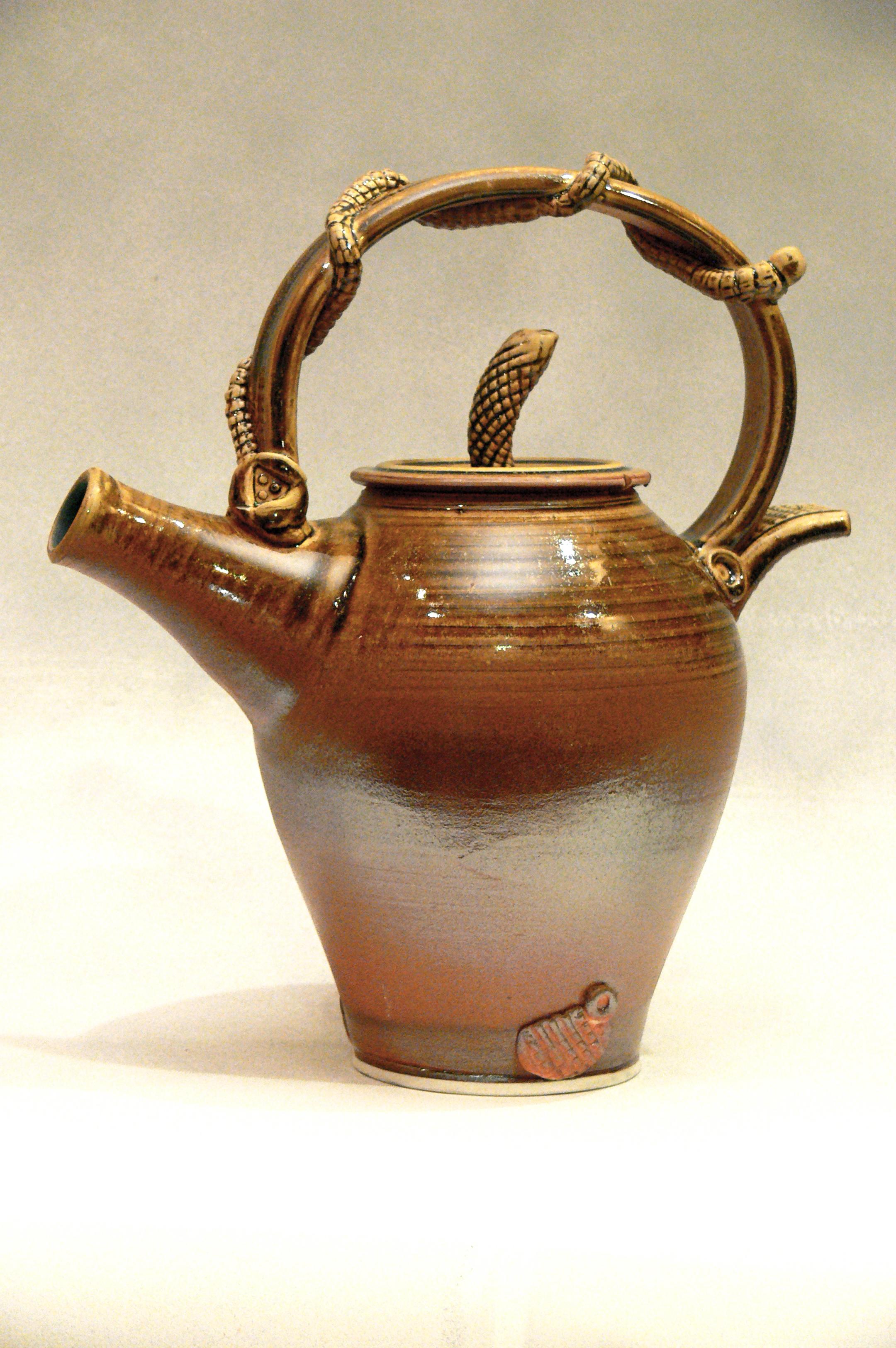 Ash and Shino Teapot