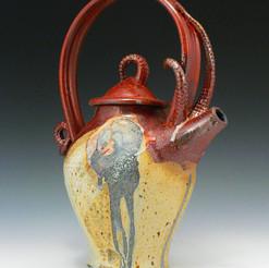 Shino Teapot