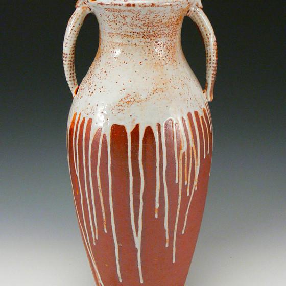 Shino Drip Vase