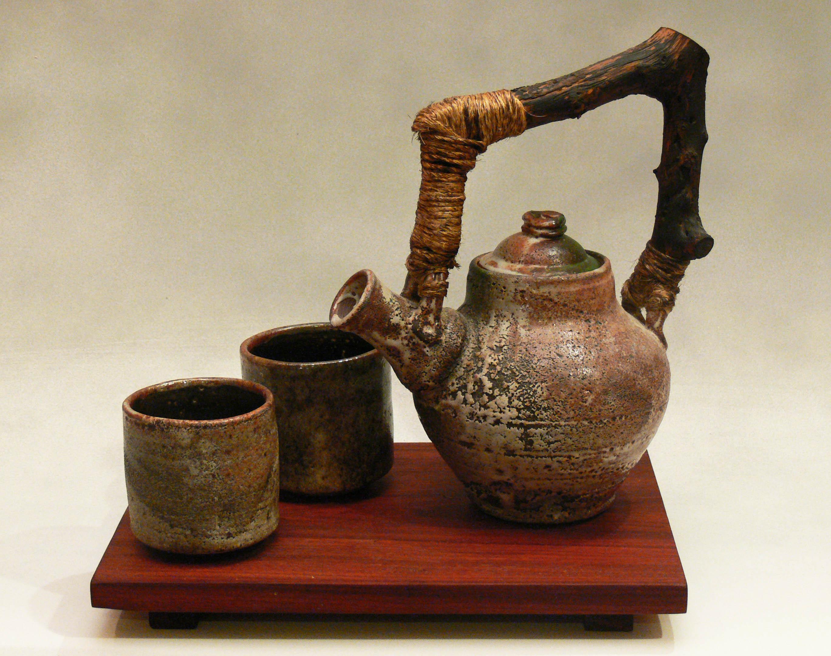Blasted Tea Set