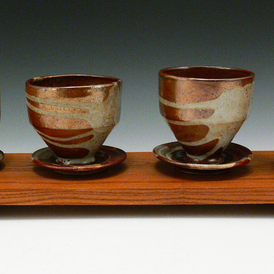 Iron Shino Cup Set