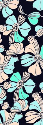fleurs fluo