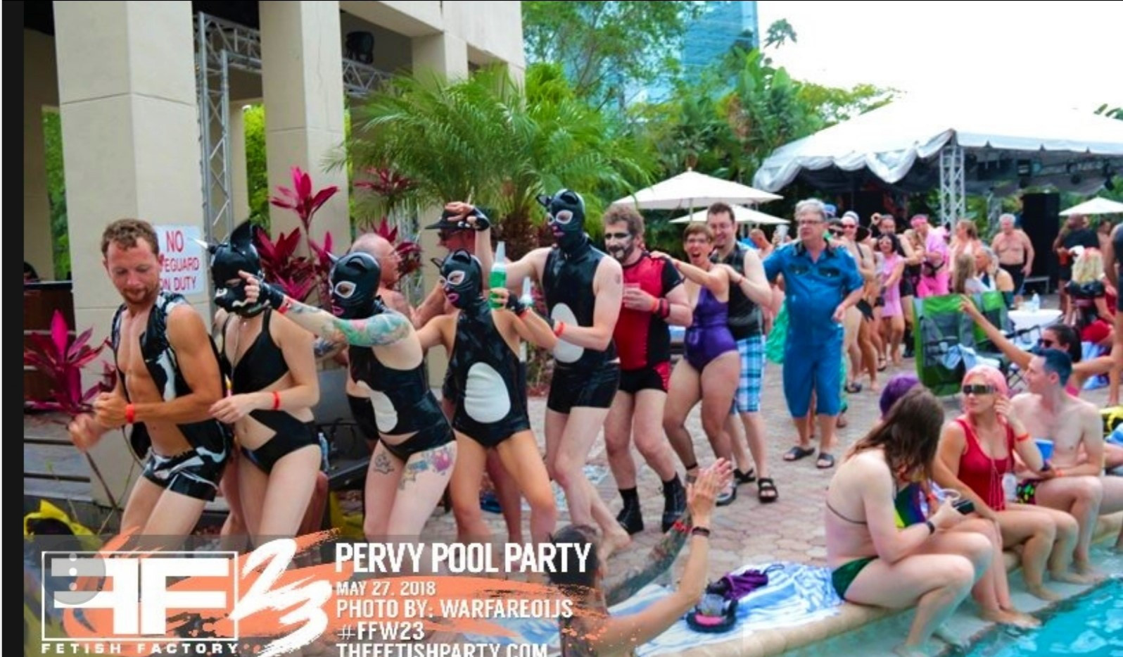 Fetish Factory Pool Party
