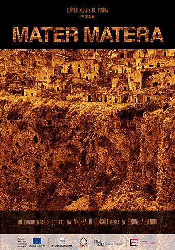 Locandina del film documentario Mater Matera, per la regia di Simone Aleandri