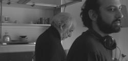 Simone Aleandri con Toni Servillo