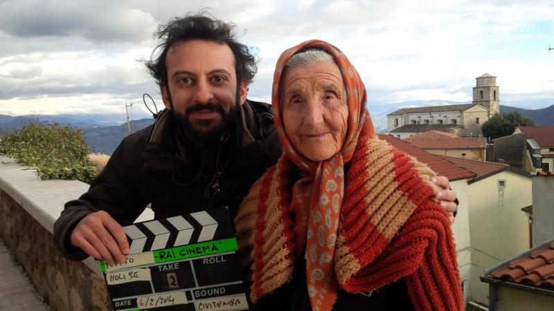 Il regista Simone Aleandri in Molise