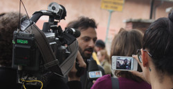 Il regista Simone Aleandri