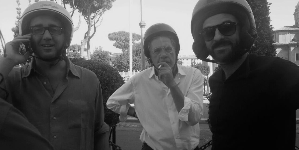 Simone Aleandri e Paolo Sorrentino