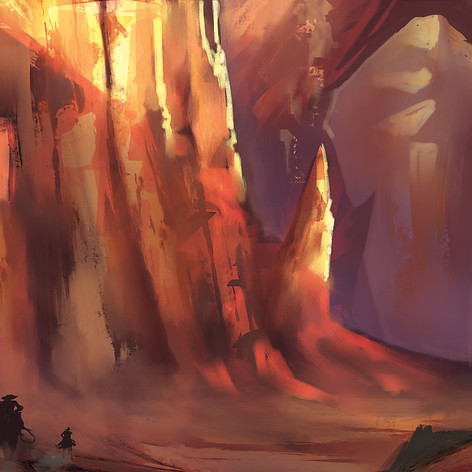 """""""Race to the Painted Cliffs"""""""