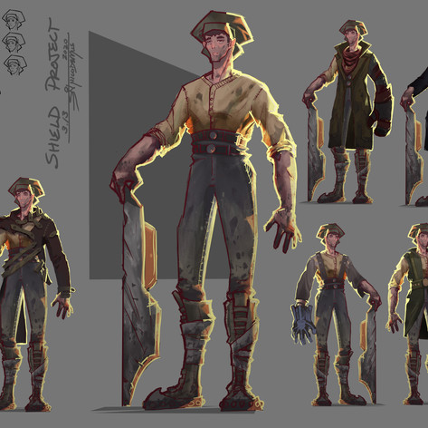 Shield Project Main Character Page
