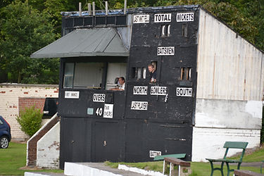 Blackpool CC Original Scorebox