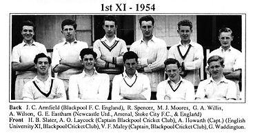 Arnold-School-1st-XI-Cricket-1954