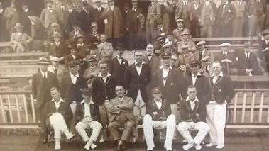Eng v Aus 1926 at Blackpool CC