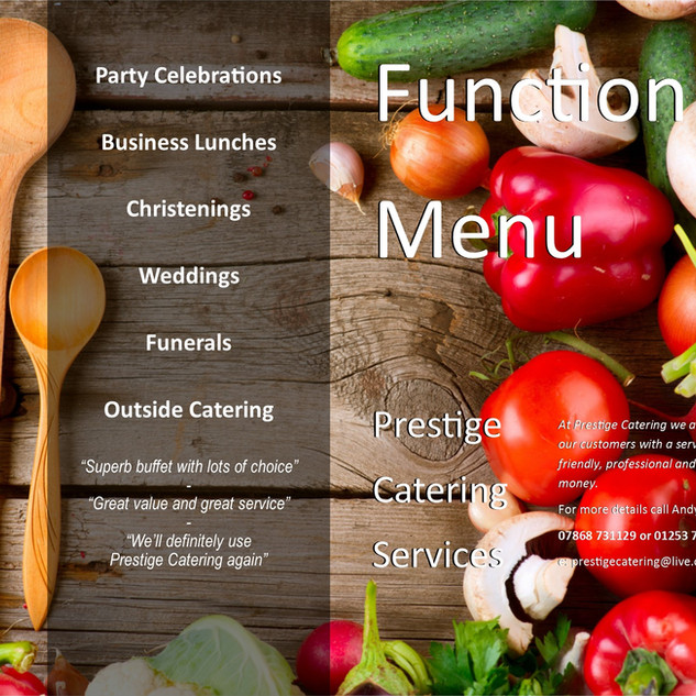 Function Menu at BCC