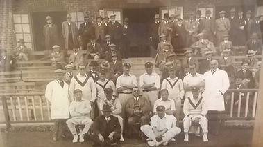 Eng v Aus 1926 at Blackpool CC (Eng Team)