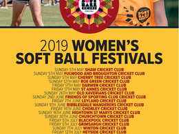 Womens Softball Cricket Festival